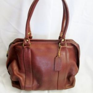 COACH 118 HAMPTONS WEEKEND SWING PACK Leather Bag